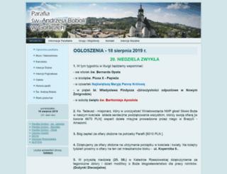 bobolagorlice.parafia.info.pl screenshot