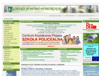 bobowo.kociewiacy.pl screenshot
