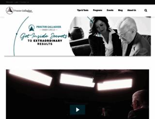 bobproctorsinnercircle.com screenshot
