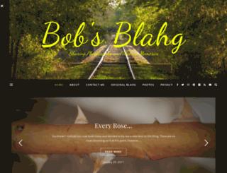 bobsblahg.com screenshot