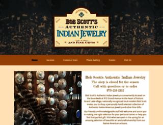 bobscottsindianjewelry.com screenshot