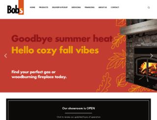 bobswoodburners.com screenshot