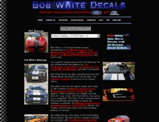 bobwhitedecals.com screenshot