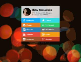 bobyramadhan.net screenshot