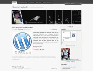 bocahlapindo.wordpress.com screenshot