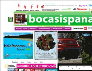 bocasispanama.com screenshot