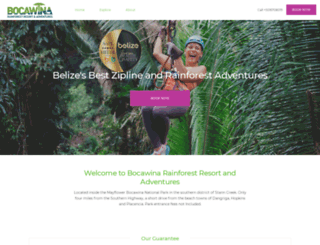 bocawinaadventures.com screenshot