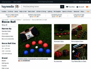 bocceballsets.com screenshot