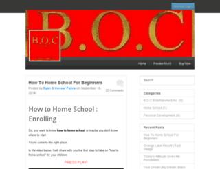 bocentertainmentinc.com screenshot