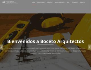 bocetoarquitectos.com screenshot