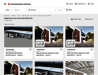 bochnia.nieruchomosci-online.pl screenshot