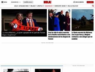 bodasreales.hola.com screenshot
