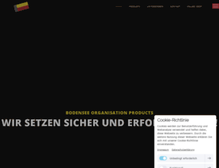 bodensee-products.de screenshot