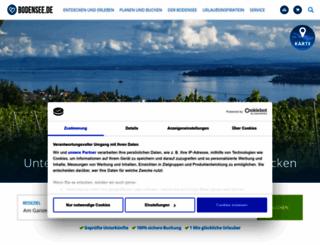 bodensee.de screenshot