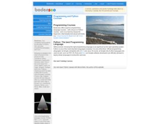 bodenseo.com screenshot