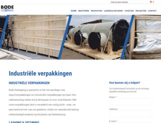 bodepackaging.nl screenshot