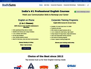 bodhisutra.com screenshot
