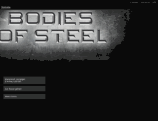 bodiesofsteel.at screenshot