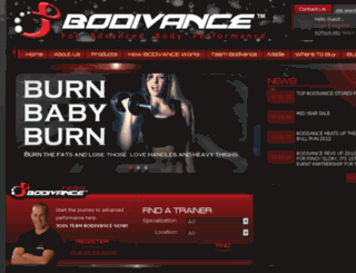 bodivance.com screenshot