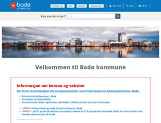 bodo.kommune.no screenshot