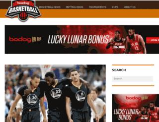 bodogbasketball.com screenshot