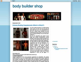 body-builder-shop.blogspot.com screenshot