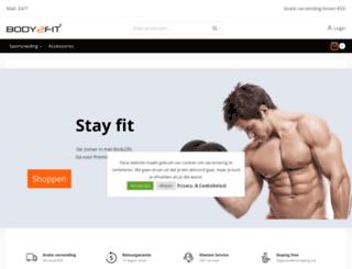 body2fit.be screenshot