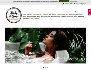 bodyandsoap.nl screenshot