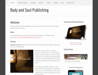 bodyandsoulpublishing.com screenshot