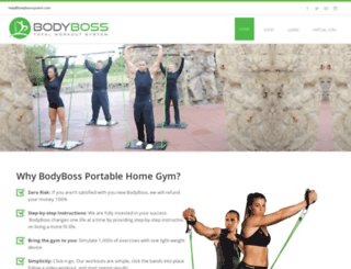 bodybosssystem.com screenshot