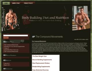 bodybuilddieting.com screenshot