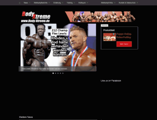 bodybuilding-magazin.de screenshot