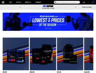 bodybuilding.com screenshot