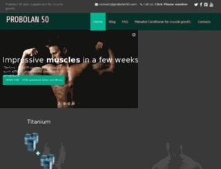 bodybuildingprobolan.eu screenshot