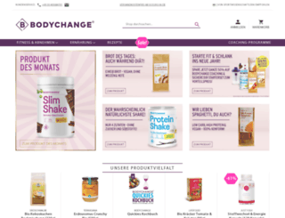 bodychange-shop.de screenshot