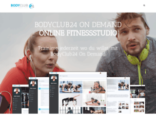 bodyclub24.de screenshot