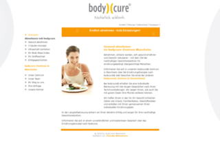 bodycure-mannheim.de screenshot