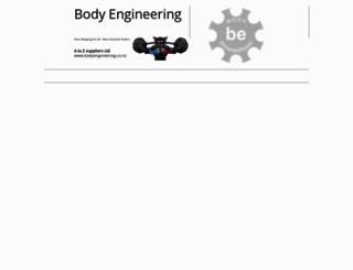 bodyengineering.co screenshot