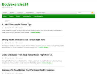 bodyexercise24.org screenshot
