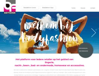 bodyfashiontradefair.nl screenshot