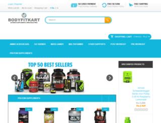 bodyfitkart.com screenshot