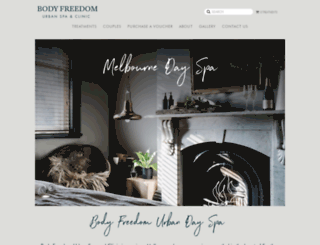 bodyfreedom.com.au screenshot