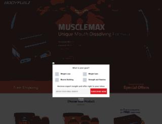bodyfuelz.com screenshot