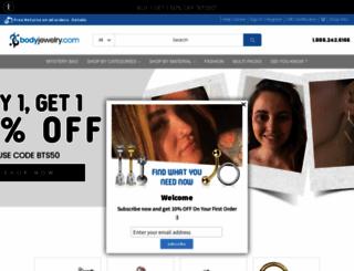 bodyjewelry.com screenshot