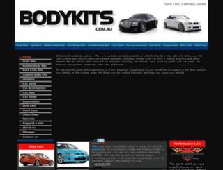 bodykits.com.au screenshot