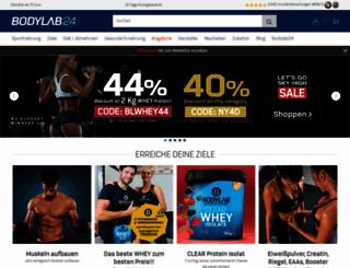 bodylab24.de screenshot