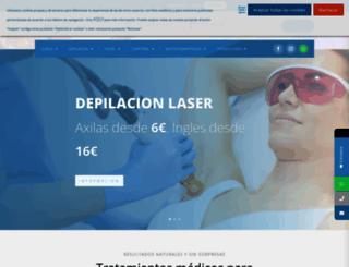 bodylaser.es screenshot