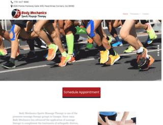 bodymechanicsmt.com screenshot