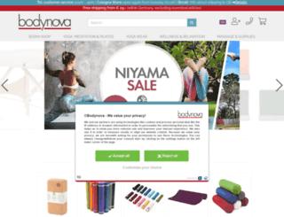 bodynova.de screenshot
