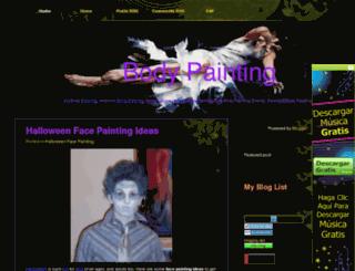 bodypaintbest.blogspot.com screenshot